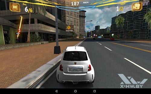 Игра Asphalt 7 на Lenovo Tab4 10