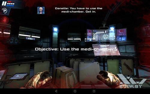 Игра Dead Effect 2 на Lenovo Tab4 10
