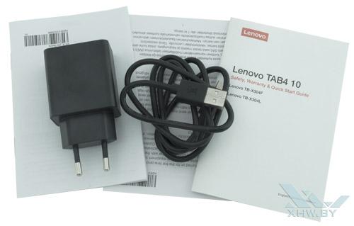 Комплектация Lenovo Tab 4 10