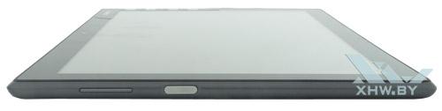 Левый торец Lenovo Tab 4 10
