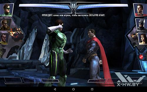 Игра Injustice на Lenovo Tab4 10