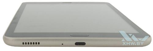 Нижний торец Samsung Galaxy Tab A 8.0 (2017)