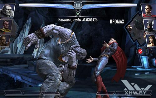 Игра Injustice на Samsung Galaxy Tab A 8.0 (2017)