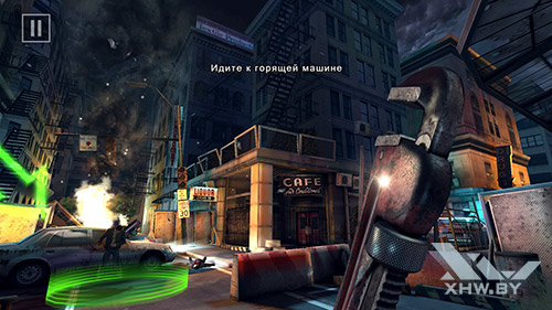 Игра Dead Trigger 2 на Honor 8