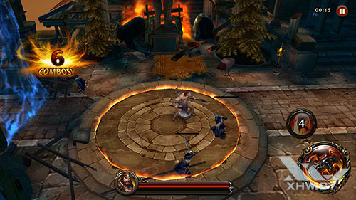 Игра Eternity Warriors 4 на Honor 8