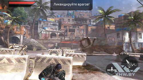 Игра Frontline Commando 2 на Honor 8
