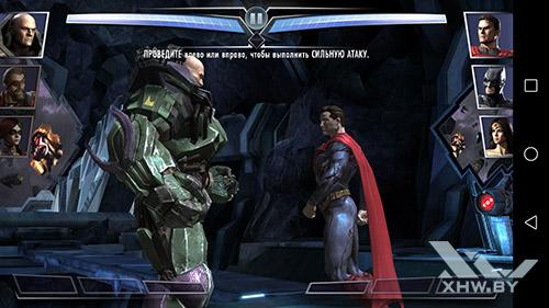 Игра Injustice на Honor 8
