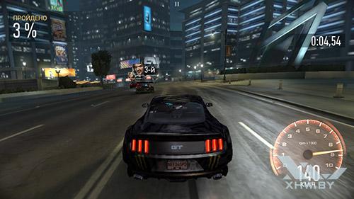 Игра Need For Speed: No Limits на Honor 8