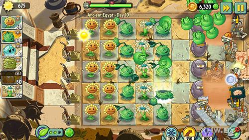 Игра Plants vs Zombies 2 на Honor 8