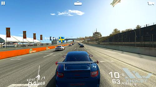 Игра Real Racing 3 на Honor 8