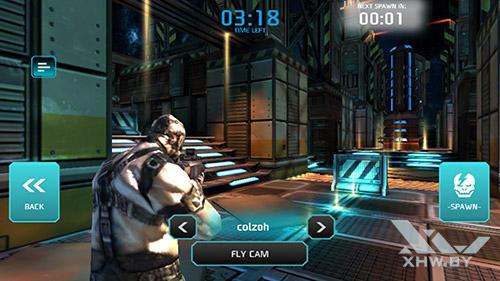 Игра Shadowgun: Dead Zone на Honor 8
