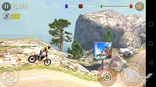 Игра Trial Xtreme 3 на Honor 8