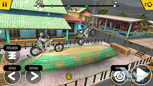 Игра Trial Xtreme 4 на Honor 8