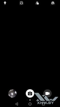 Интерфейс фронтальной камеры Honor 6A. Рис 1