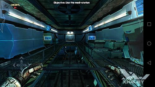 Игра Dead Effect на Honor 6A