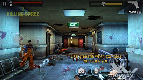 Игра Dead Target на Honor 6A