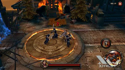 Игра Eternity Warriors 4 на Honor 6A