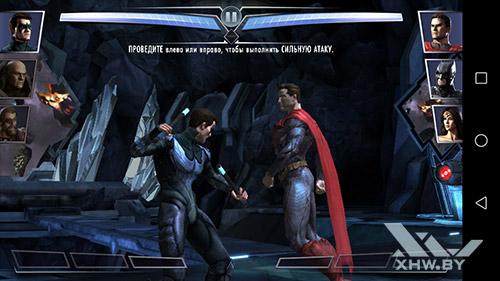 Игра Injustice на Honor 6A