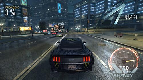 Игра Need For Speed: No Limits на Honor 6A
