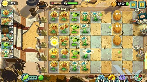 Игра Plants vs Zombies 2 на Honor 6A