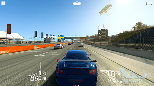 Игра Real Racing 3 на Honor 6A