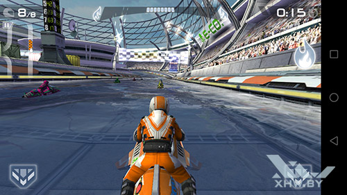 Игра Riptide GP2 на Honor 6A