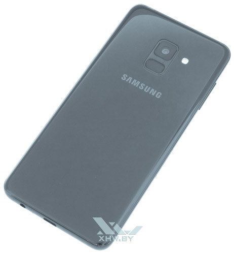 Samsung Galaxy A8 (2018) хорошо собран
