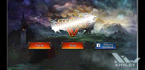 Игра Eternity Warriors 4 на Samsung Galaxy A8 (2018)