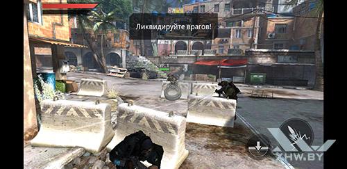 Игра Frontline Commando 2 на Samsung Galaxy A8 (2018)