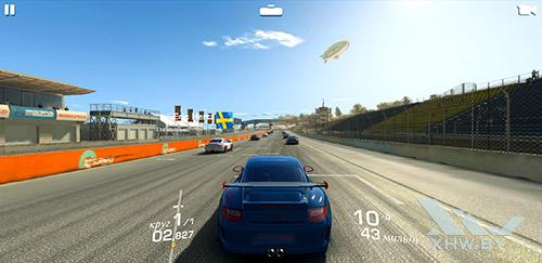 Игра Real Racing 3 на Samsung Galaxy A8 (2018)