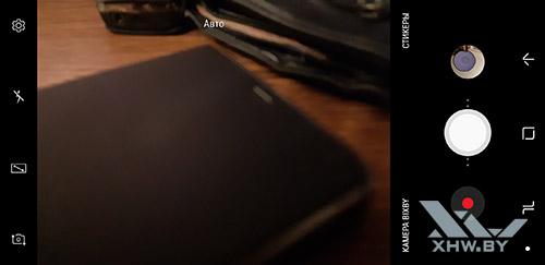 Интерфейс основной камеры Samsung Galaxy A8 (2018). Рис 1