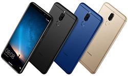 Большой металлический смартфон Huawei - Mate 10 lite