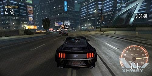 Игра Need For Speed: No Limits на Huawei Mate 10 lite
