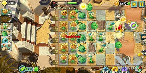 Игра Plants vs Zombies 2 на Huawei Mate 10 lite