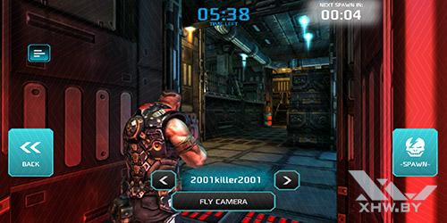 Игра Shadowgun: Dead Zone на Huawei Mate 10 lite