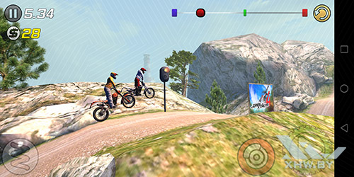 Игра Trial Xtreme 3 на Huawei Mate 10 lite