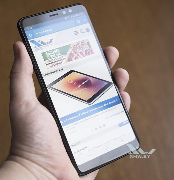 Телефон Samsung Galaxy A8+ (2018)