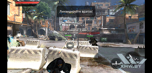 Игра Frontline Commando 2 на Samsung Galaxy A8+ (2018)