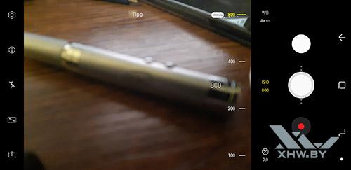 Интерфейс фронтальной камеры Samsung Galaxy A8+ (2018) рис 1