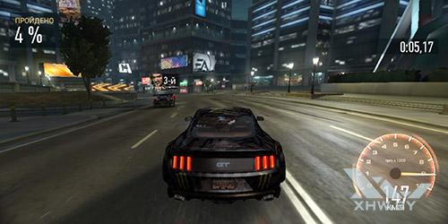 Игра Need For Speed: No Limits на Huawei P smart