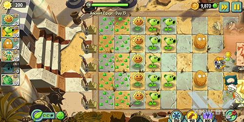 Игра Plants vs Zombies 2 на Huawei P smart
