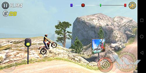 Игра Trial Xtreme 3 на Huawei P smart