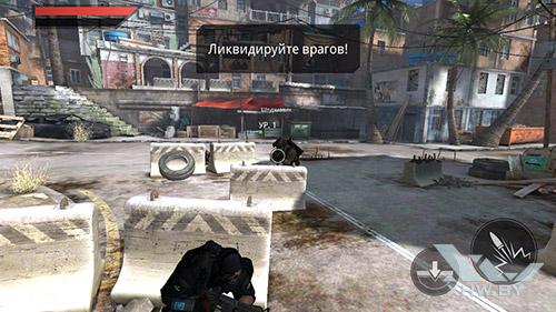 Игра Frontline Commando 2 на Samsung Galaxy J7 Neo