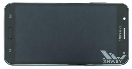 Samsung Galaxy J7 Neo. Вид сверху