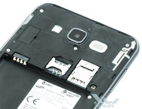 Разъемы для карточек Samsung Galaxy J7 Neo