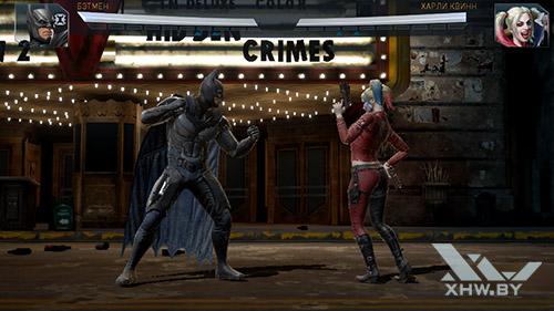 Игра Injustice 2 на Samsung Galaxy J7 Neo