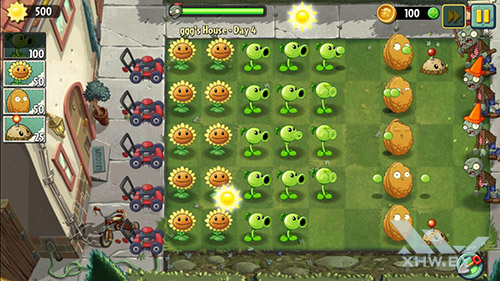 Игра Plants vs Zombies 2 на Samsung Galaxy J7 Neo