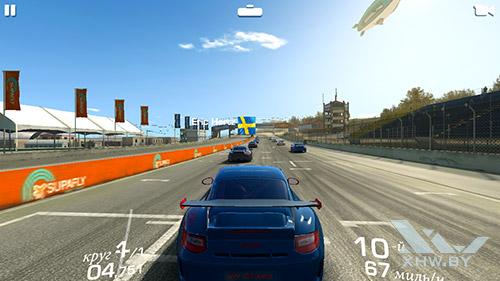 Игра Real Racing 3 на Samsung Galaxy J7 Neo