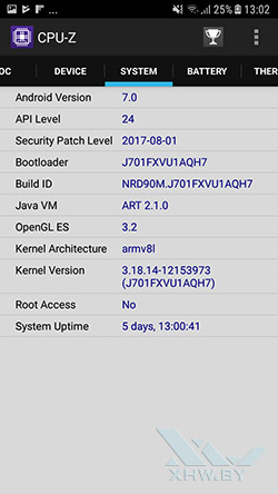 Система Samsung Galaxy J7 Neo