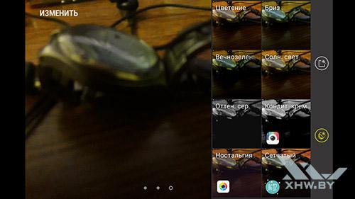 Интерфейс основной камеры Galaxy J7 Neo. Рис 3